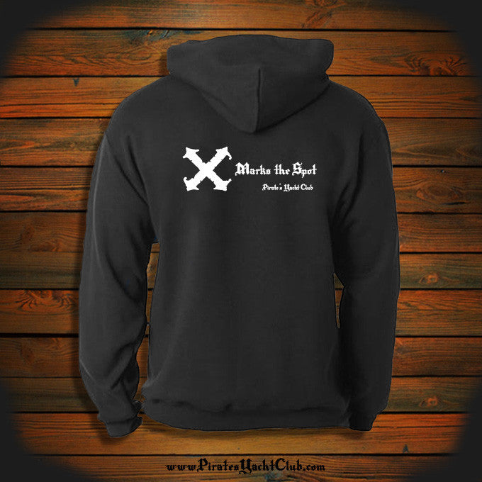 """X Marks the Spot"" Hooded Sweatshirt"