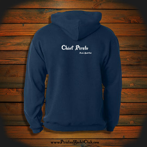"""Chief Pirate"" Hooded Sweatshirt"