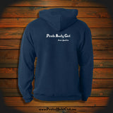 """Pirate Booty Girl"" Hooded Sweatshirt"