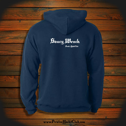 """Saucy Wench"" Hooded Sweatshirt"