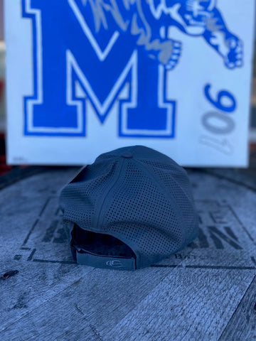 Graphite Moisture Wicking Tigers Hat