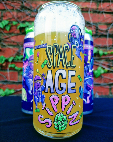 Space Age Sippin' Glass
