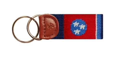 Smathers and Branson Key Fob Tennessee Flag