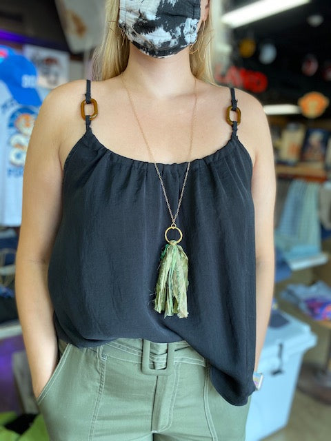Edie Tassel Necklace