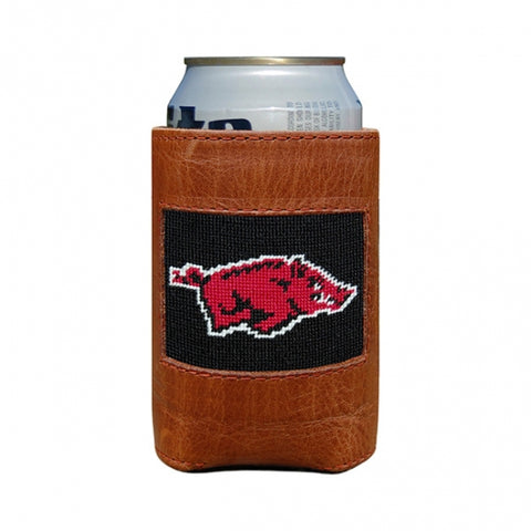 Arkansas Needlepoint Coozie