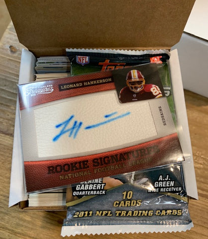 Mystery Box Cards Football