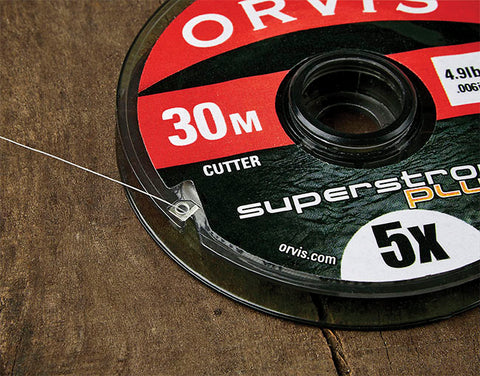 Super Strong Plus Tippet in 30m Spool