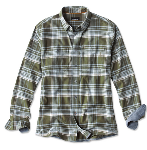 Flat Creek Flannel Rifle Green