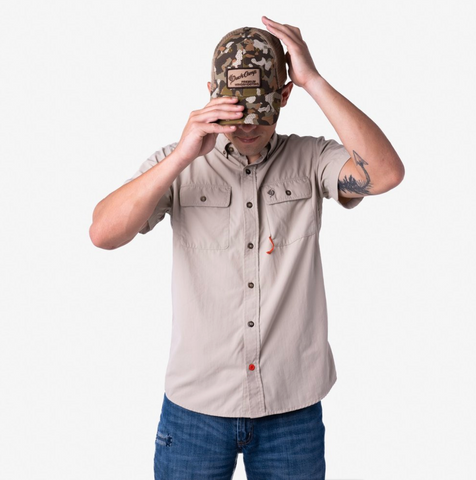 Short Sleeve Hunting Shirt Bone