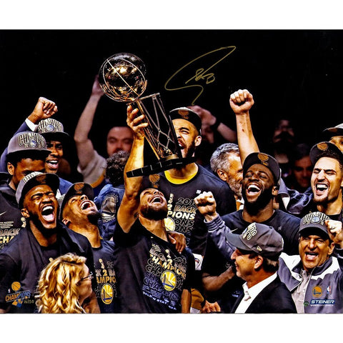 Stephen Curry Signed 2018 NBA Finals Champion 16x20 Photo