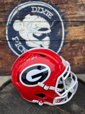 Jake Fromm Signed Georgia Helmet