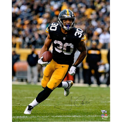 James Conner Steelers signed 16x20 photo