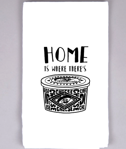 Home is Panchos Tea Towel