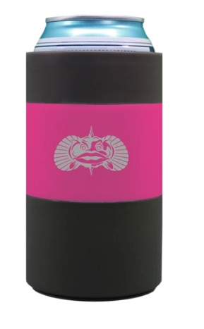 Pink Non-Tipping Can Cooler