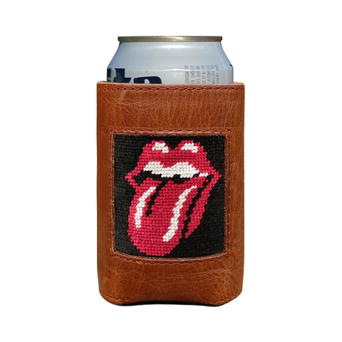 Rolling Stones Needlepoint Coozie