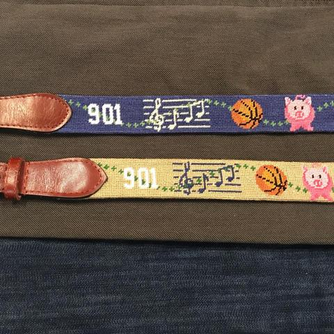 901 Needlepoint Belt