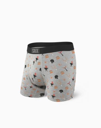 Vibe Boxer Brief Grey Tailgate