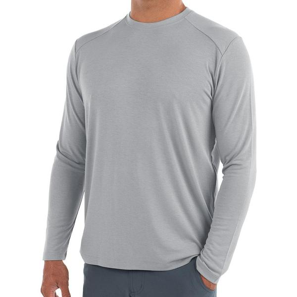 Bamboo Midweight Long Sleeve Aspen Grey