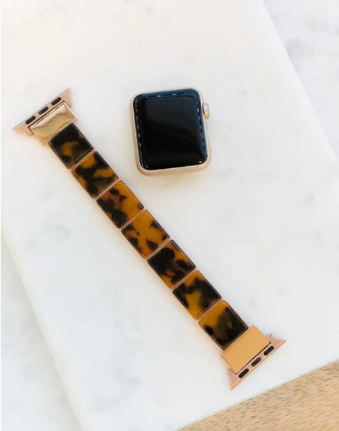 Brown Tortoise Smart Watch Band