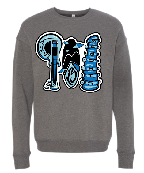 901 Is Memphis Sweatshirt