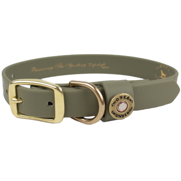 Water Dog Collar Olive