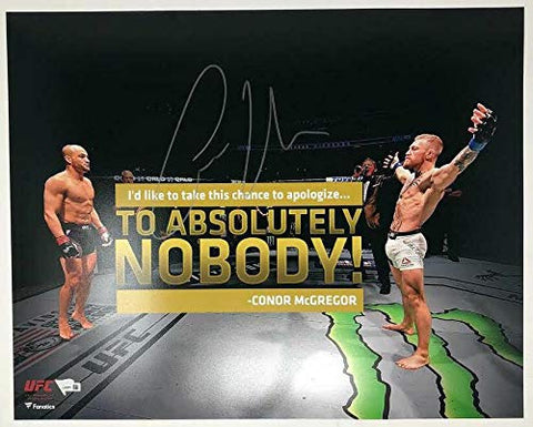 Conor McGregor - UFC/Apology 16x20