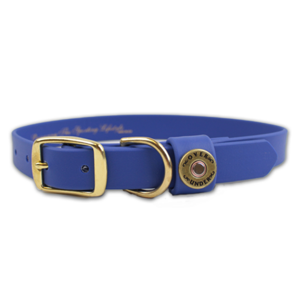 Water Dog Collar Blue