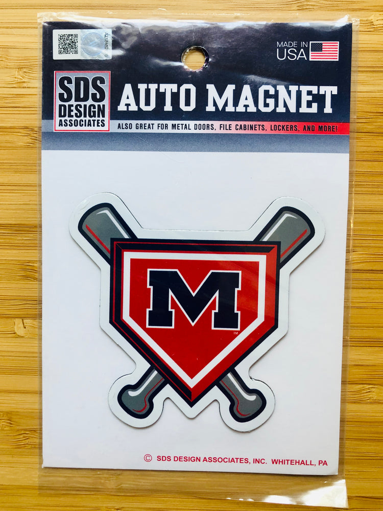 "Ole Miss Baseball 3"" Collegiate Magnet"