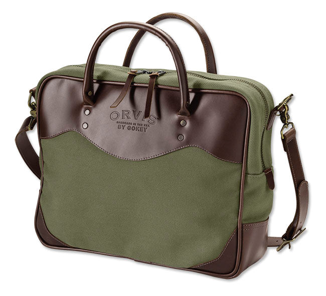 Orvis Bootlegger Canvas Briefcase