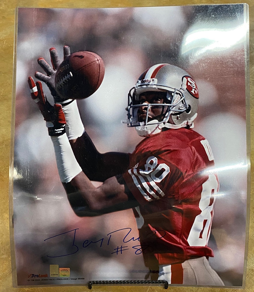 Jerry Rice 49ers 16X20 Signed Photo