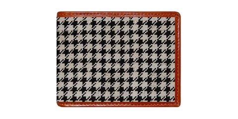 Houndstooth Wallet