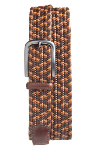Torino Leather Stretch Belt