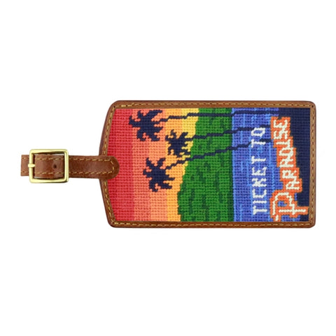 Luggage Tag Ticket to Paradise
