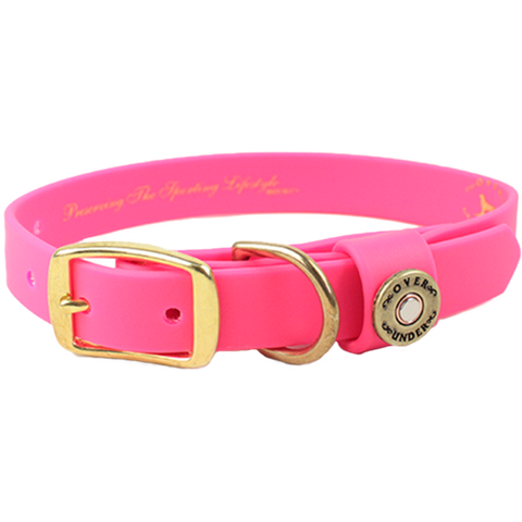 Water Dog Collar Pink
