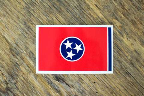 VT Decal Tennessee Flag