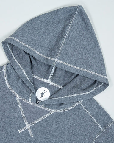 Sea Silk Schooner L/S Knit Dark Heather Grey