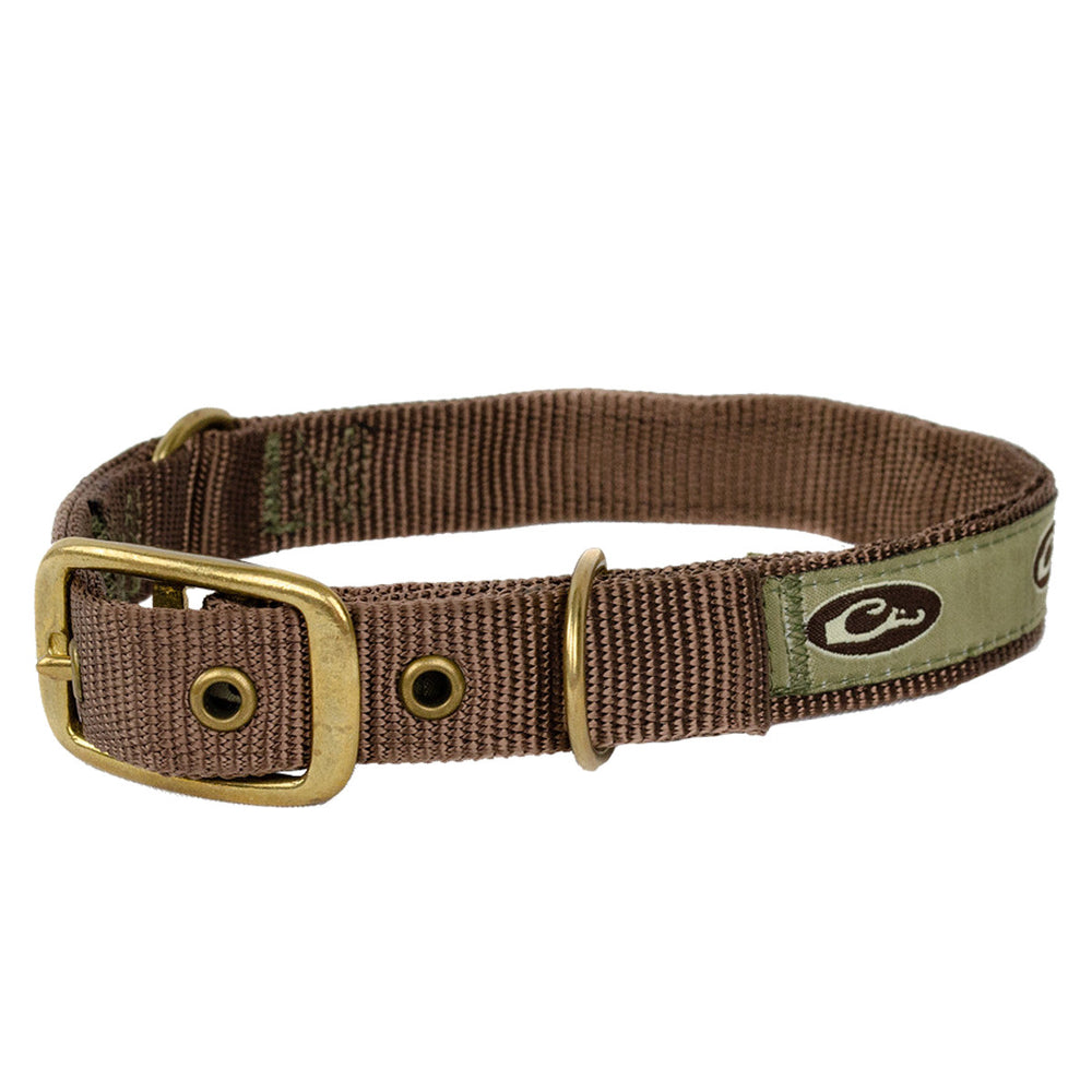 Drake Team Gun Dog Split Ring Dog Collar 20in
