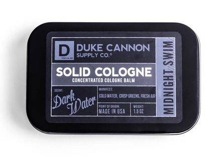 Dark Water Solid Cologne