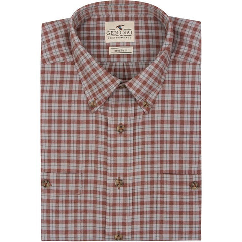 Chestnut Performance Flannel
