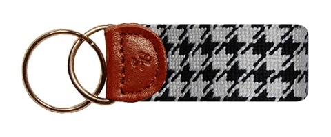 Houndstooth Key Fob