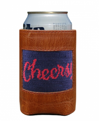 Needlepoint Coozie Cheers