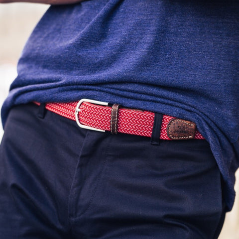 Mexico Two Toned Belt