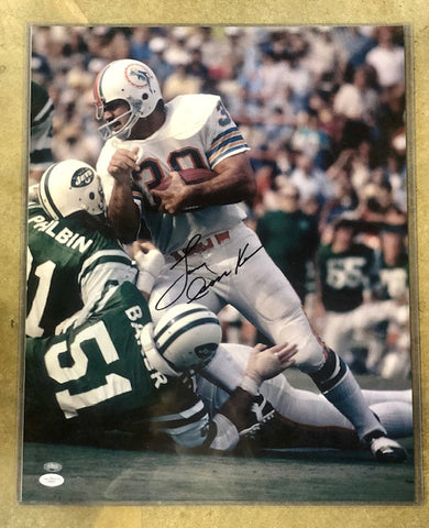 Larry Csonka Signed Dolphins Photo 16X20