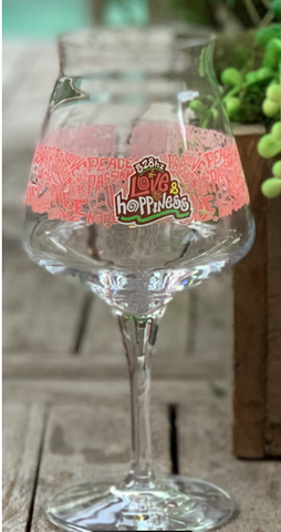 Love & Hoppiness Glass