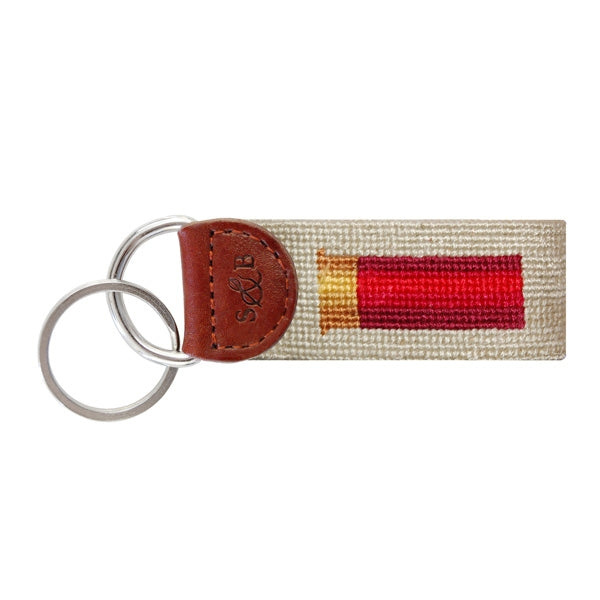 Smathers and Branson Key Fob Shotgun Shell Khaki