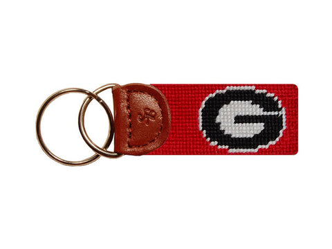 Georgia Key Fob Red