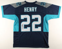 Derrick Henry Signed Titans Jersey