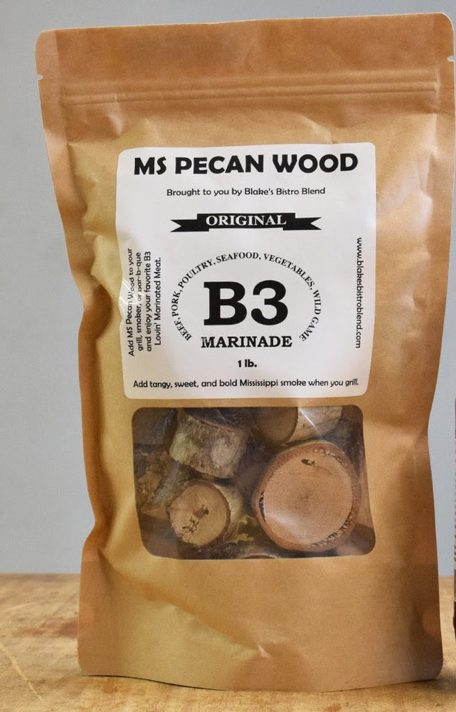 MS Pecan Wood Bag 1LB