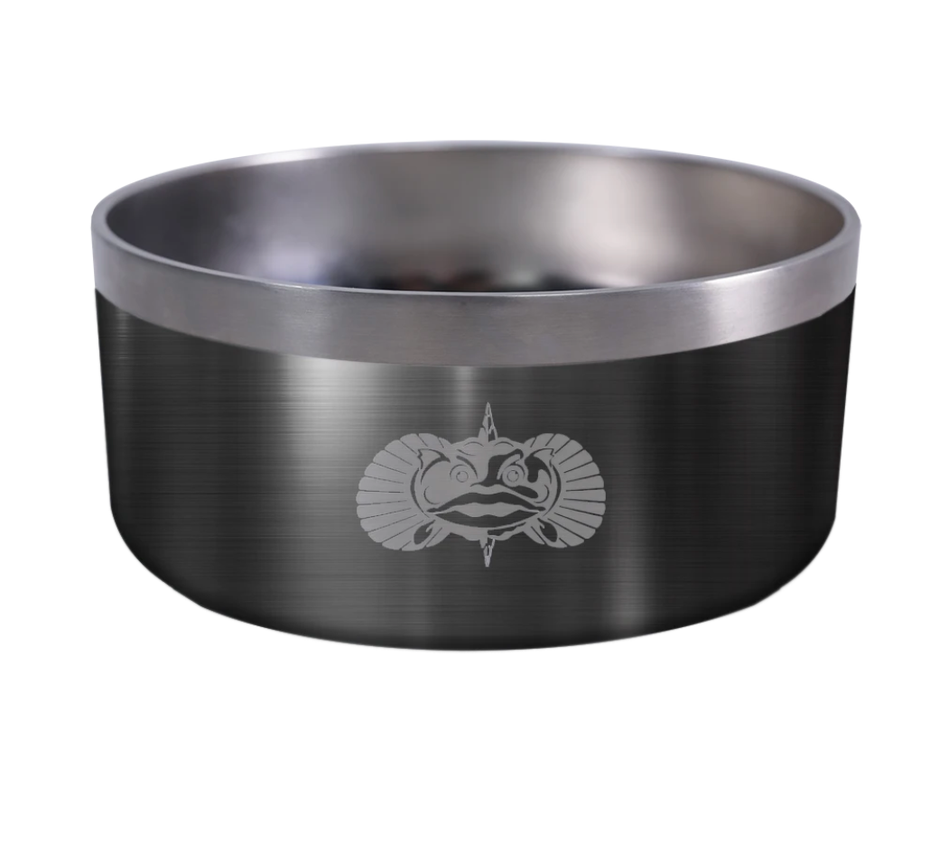 Non-Tipping Dog Bowl Graphite