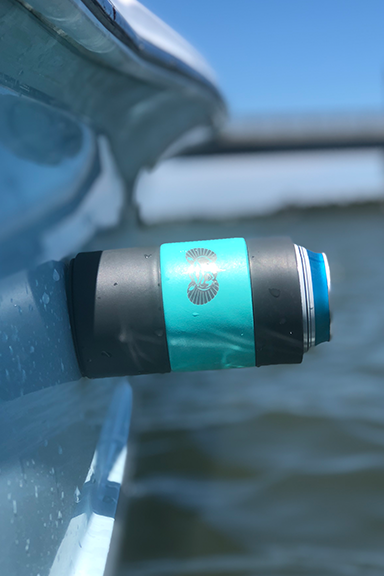 Non-Tipping Can Cooler Teal